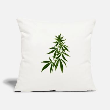 Herbe Herbe, mauvaise herbe - Housse de coussin