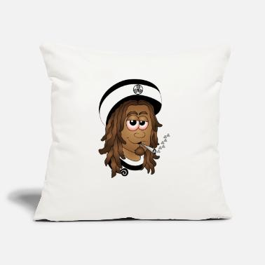 Rasta Rasta guy breton - Pillowcase 17,3'' x 17,3'' (45 x 45 cm)