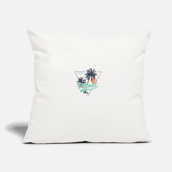 Enviromental Pillow Cases - SAVE THE PLANET - Pillowcase 17,3'' x 17,3'' (45 x 45 cm) natural white
