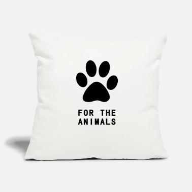 Fond Of Animals For The Animals - Pillowcase 17,3'' x 17,3'' (45 x 45 cm)