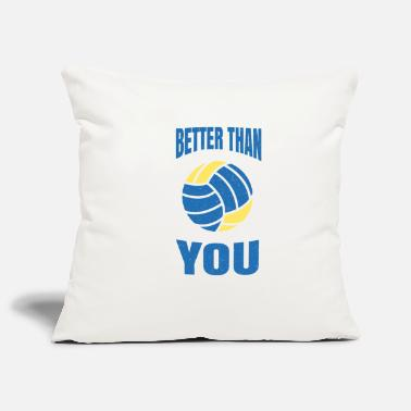 Happy Easter volleyball - Pillowcase 17,3'' x 17,3'' (45 x 45 cm)