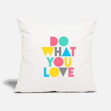 Love graphic - Sofa pillowcase 17,3'' x 17,3'' (45 x 45 cm)