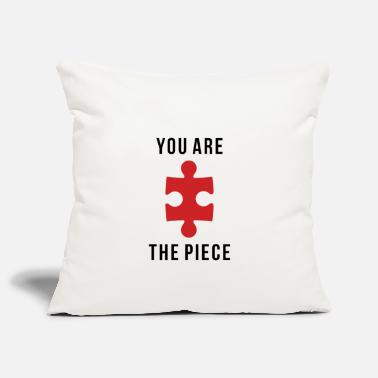 Piece YOU ARE THE PIECE - Pillowcase 17,3'' x 17,3'' (45 x 45 cm)