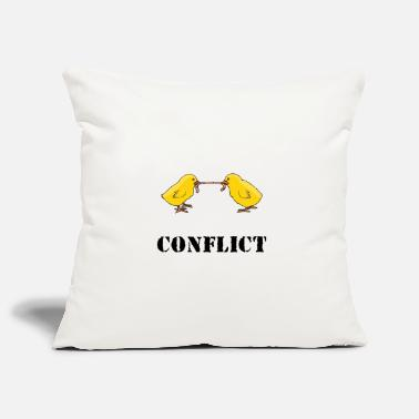 Conflict conflict - Pillowcase 17,3'' x 17,3'' (45 x 45 cm)