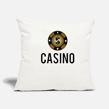 Texas Gioco di carte di idea regalo di Chip Poker Chip Cool - Copricuscino per divano, 44 x 44 cm