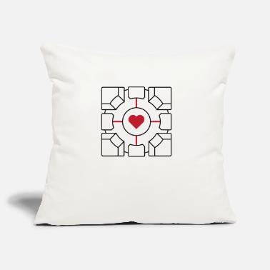 Companion Companion Cube - Pillowcase 17,3'' x 17,3'' (45 x 45 cm)