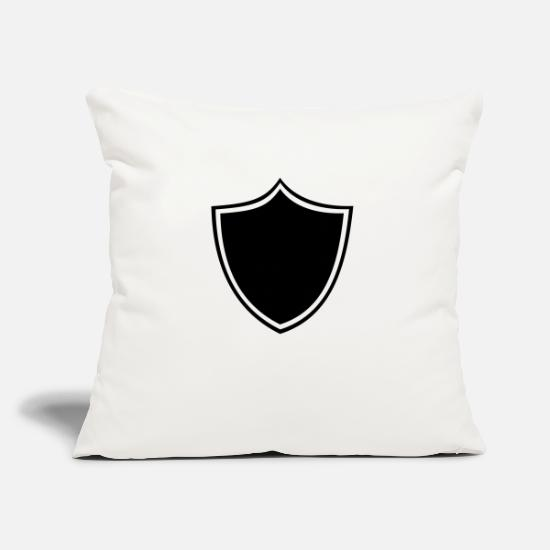 Design Pillow Cases - Crest, logo, insignia, medals, characters - Pillowcase 17,3'' x 17,3'' (45 x 45 cm) natural white
