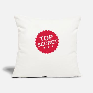 Secret Agent top_secret_f1 - Pillowcase 17,3'' x 17,3'' (45 x 45 cm)