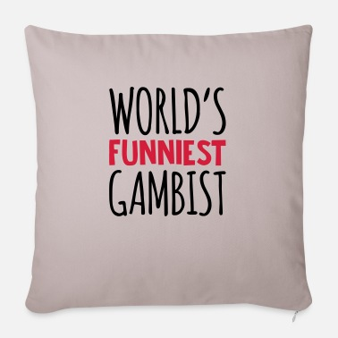 Violing Design worlds funniest gambist - Pillowcase 17,3'' x 17,3'' (45 x 45 cm)