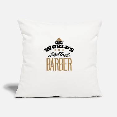 Shaved worlds shittest barber - Pillowcase 17,3'' x 17,3'' (45 x 45 cm)