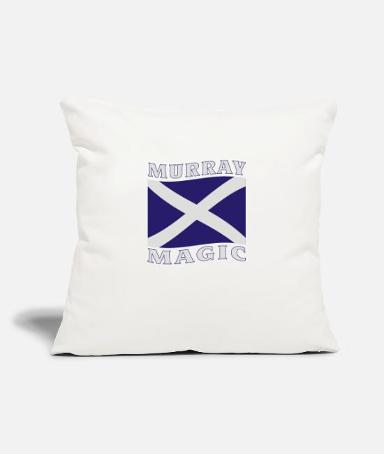 Scottish Pillow Cases - murray_magicw - Pillowcase 17,3'' x 17,3'' (45 x 45 cm) natural white