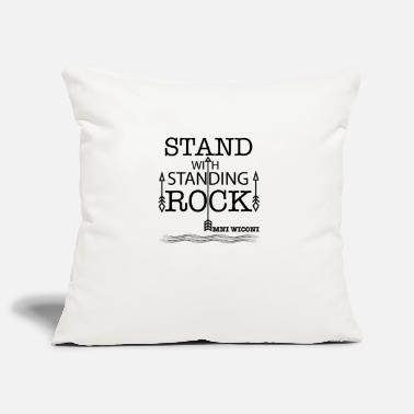 Stand STAND WITH STANDING ROCK - Pillowcase 17,3'' x 17,3'' (45 x 45 cm)