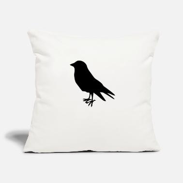 Bird early bird bird birds - Pillowcase 17,3'' x 17,3'' (45 x 45 cm)