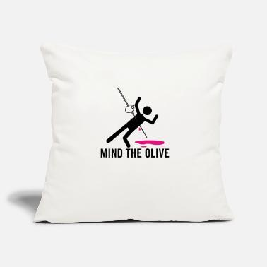 Mind The Olive - Pillowcase 17,3'' x 17,3'' (45 x 45 cm)