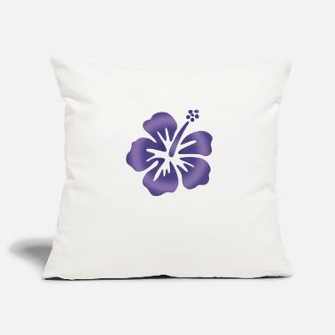 Nature Forms Hibiscus Blue - Pillowcase 17,3'' x 17,3'' (45 x 45 cm)