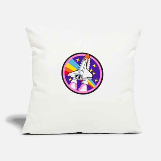 Nasa Pillow Cases - Emblem - rocket - Pillowcase 17,3'' x 17,3'' (45 x 45 cm) natural white