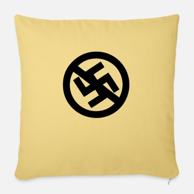 Fascism no fascism - Pillowcase 17,3'' x 17,3'' (45 x 45 cm)
