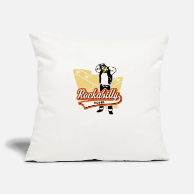 Confederate Rebel Rockabilly Rebel - Pillowcase 17,3'' x 17,3'' (45 x 45 cm)