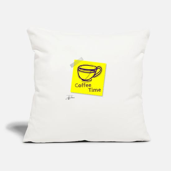 Reduced Pillow Cases - coffee 1460515 1 - Pillowcase 17,3'' x 17,3'' (45 x 45 cm) natural white