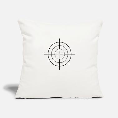 Crosshair crosshairs - Pillowcase 17,3'' x 17,3'' (45 x 45 cm)