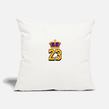 Basketball Number 23 LeBron James - Pillowcase 17,3'' x 17,3'' (45 x 45 cm)