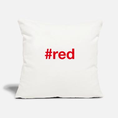Red RED - Pillowcase 17,3'' x 17,3'' (45 x 45 cm)