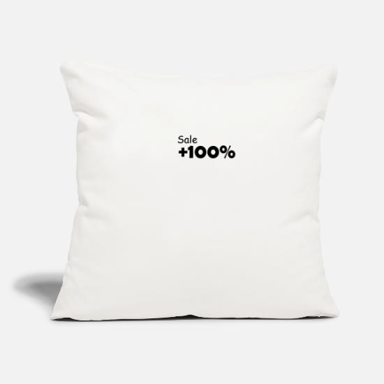 Sale Pillow Cases - Sale 100 - Pillowcase 17,3'' x 17,3'' (45 x 45 cm) natural white