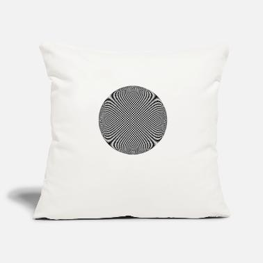 Optics Optical Ilusion - Pillowcase 17,3'' x 17,3'' (45 x 45 cm)