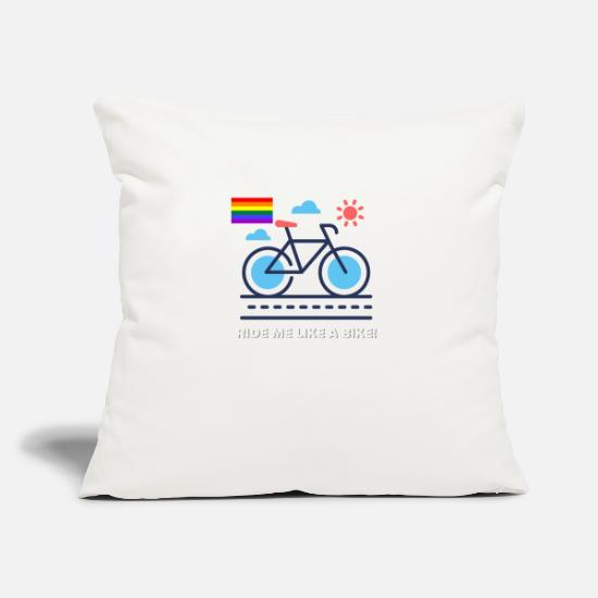 Gay Pride Pillow Cases - LGBT - Pillowcase 17,3'' x 17,3'' (45 x 45 cm) natural white