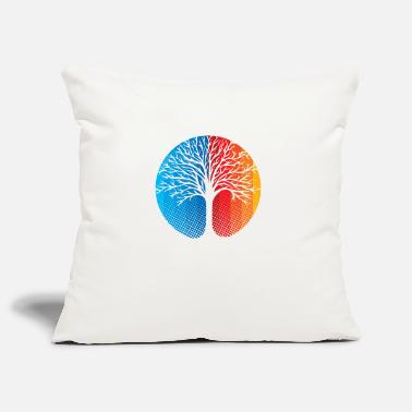 Spiritual Spiritual tree - Pillowcase 17,3'' x 17,3'' (45 x 45 cm)