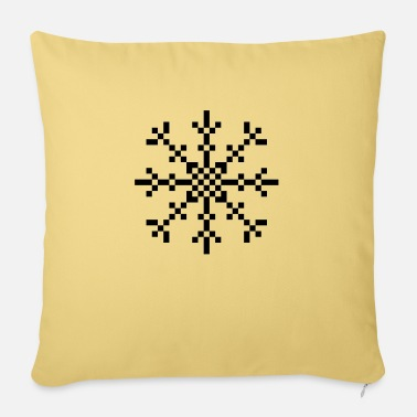 8 Bit 8 BIT Snowflake - Pillowcase 17,3'' x 17,3'' (45 x 45 cm)