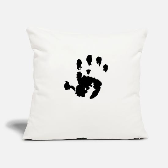 Baby Pillow Cases - Baby Handprint - Pillowcase 17,3'' x 17,3'' (45 x 45 cm) natural white