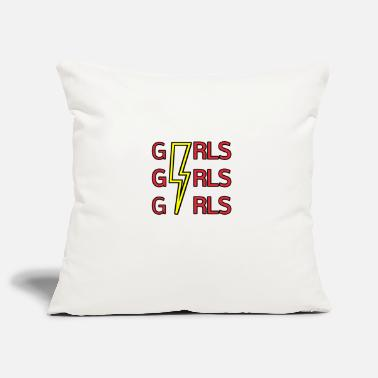 Girls Girls Girls Girls - Pillowcase 17,3'' x 17,3'' (45 x 45 cm)