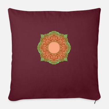 Funky Mandala Beautiful Drawing Floral Style Indie Blogger - Copricuscino