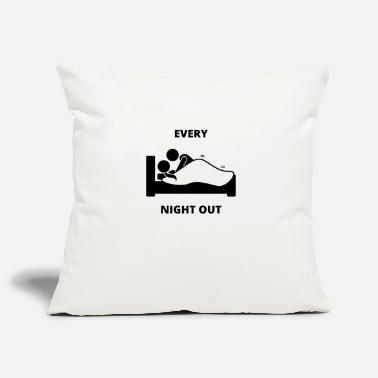 Guys Night Out Funny Night Out - Pillowcase 17,3'' x 17,3'' (45 x 45 cm)