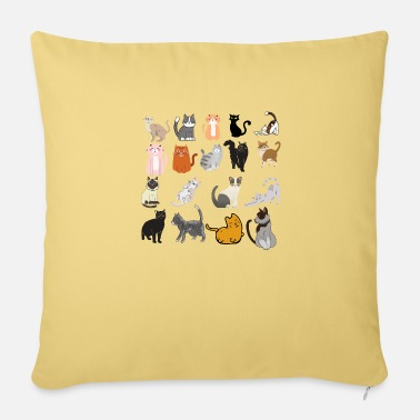 CATS - Pillowcase 17,3'' x 17,3'' (45 x 45 cm)