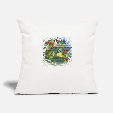 Bird Colorful birds - Pillowcase 17,3'' x 17,3'' (45 x 45 cm)