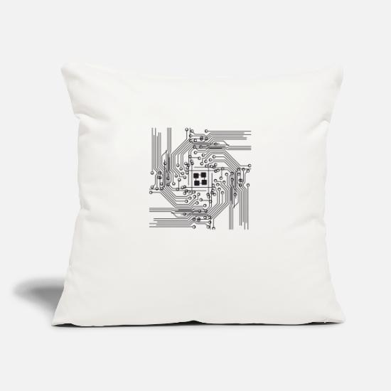 Computers Pillow Cases - system - Pillowcase 17,3'' x 17,3'' (45 x 45 cm) natural white
