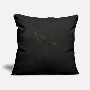 Line Drawing Draw Drawing Human Hand Drawing Line Drawing - Pillowcase 17,3'' x 17,3'' (45 x 45 cm)