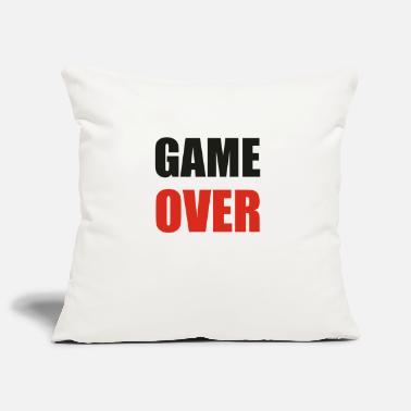 Game Over game over - Funda de cojín