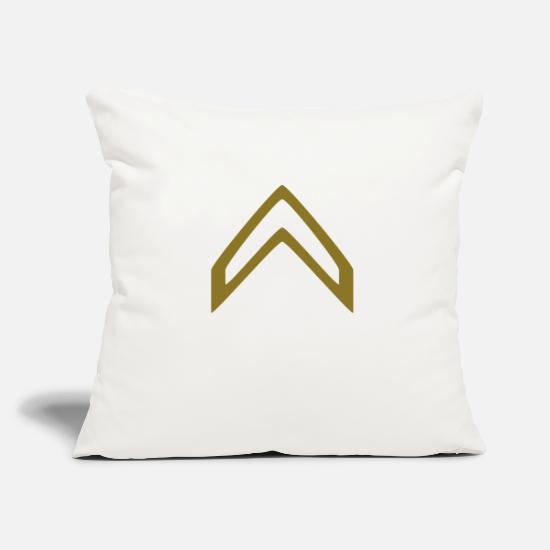 Game Pillow Cases - Military Insignia Badge - Pillowcase 17,3'' x 17,3'' (45 x 45 cm) natural white