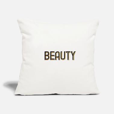 Beautiful Beauty - beauty - beautiful - chic - fashion - Pillowcase 17,3'' x 17,3'' (45 x 45 cm)