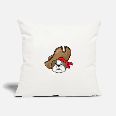 Comic Cowboy dog - Pillowcase 17,3'' x 17,3'' (45 x 45 cm)