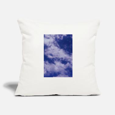 Blue Sky sky blue sky with clouds - Pillowcase 17,3'' x 17,3'' (45 x 45 cm)
