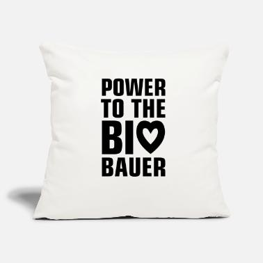 Öko power_to_the_bio_bauer_f1 - Kissenhülle