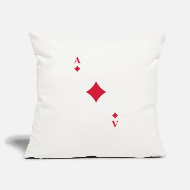 Cards Cards - Pillowcase 17,3'' x 17,3'' (45 x 45 cm)
