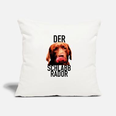 Schoko The Schlabbrador - Schoko Edition - Pillowcase 17,3'' x 17,3'' (45 x 45 cm)