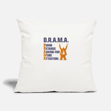 Adhd Symbols Stupid People With Attention Deficit - Pillowcase 17,3'' x 17,3'' (45 x 45 cm)