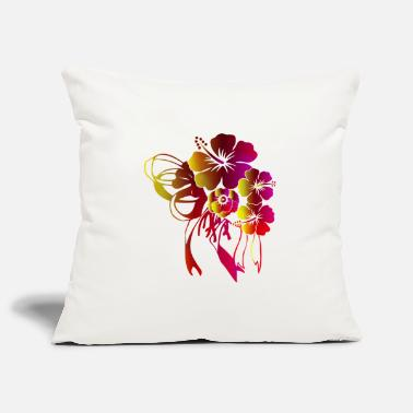 Flora Floral gift with bow ribbon - Pillowcase 17,3'' x 17,3'' (45 x 45 cm)