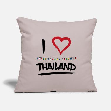 Fullmoon Party I love Bangkok Thailand fullmoon party Geschenk - Kissenhülle